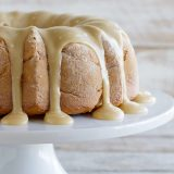 Caramel Apple Bundt Cake - This easy, yet impressive looking Caramel Apple Bundt Cake is perfect to serve to holiday guests. Don't skip the caramel icing - it totally makes this cake!