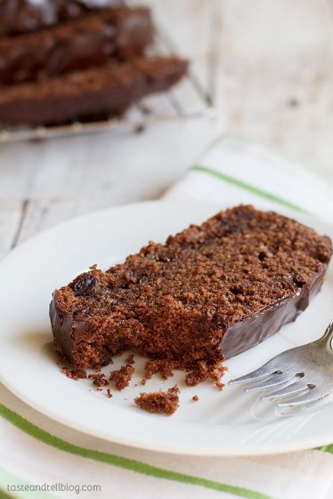 Chocolate Pound Cake - rich and dark and totally decadent!