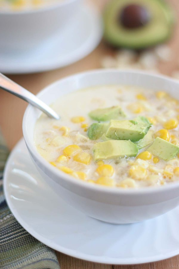 Fresh or frozen corn comes together with crabmeat to give you this delicious and simple Crab and Corn Soup, made in the slow cooker.