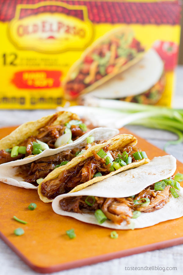 Honey Garlic Chicken Tacos Taste And Tell