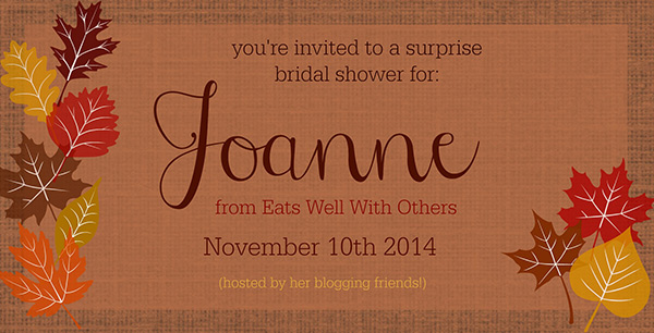 Bridal Shower for Joanne