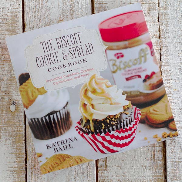 The Biscoff Cookie and Spread Cookbook by Katrina Bahl. Cookbook review and recipe for Fudgy Biscoff Swirl Brownies on Taste and Tell.