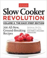 Slow Cooker Revolution Volume 2 - 2014 Cookbook Gift Guide on Taste and Tell