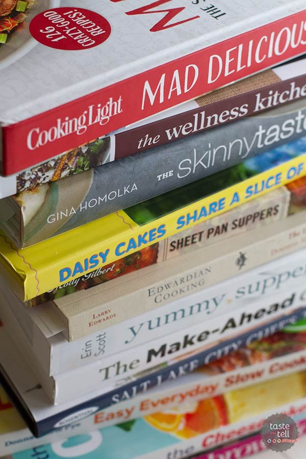 My goal to blog about 52 cookbooks in 2015!