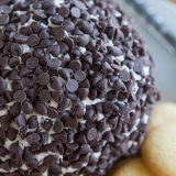 This Cannoli Cheeseball has the flavors of cannoli filling turned into a cheeseball. It's a super easy recipe for entertaining!