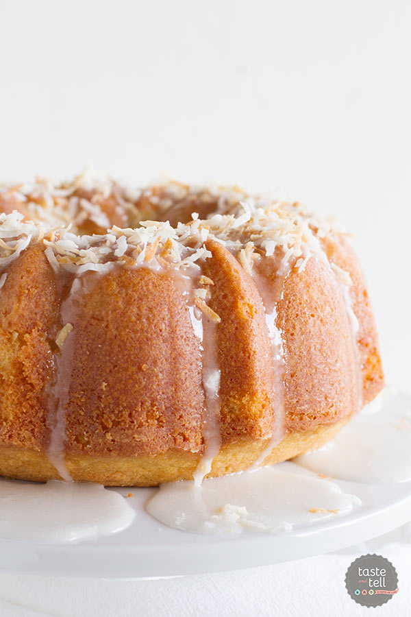Crazy for Coconut Bundt Cake from Brilliant Bundt Cakes