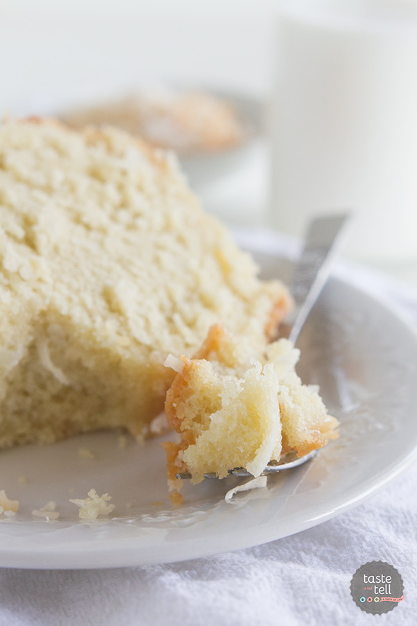 This Crazy for Coconut Bundt Cake is easy and has the perfect crumb.