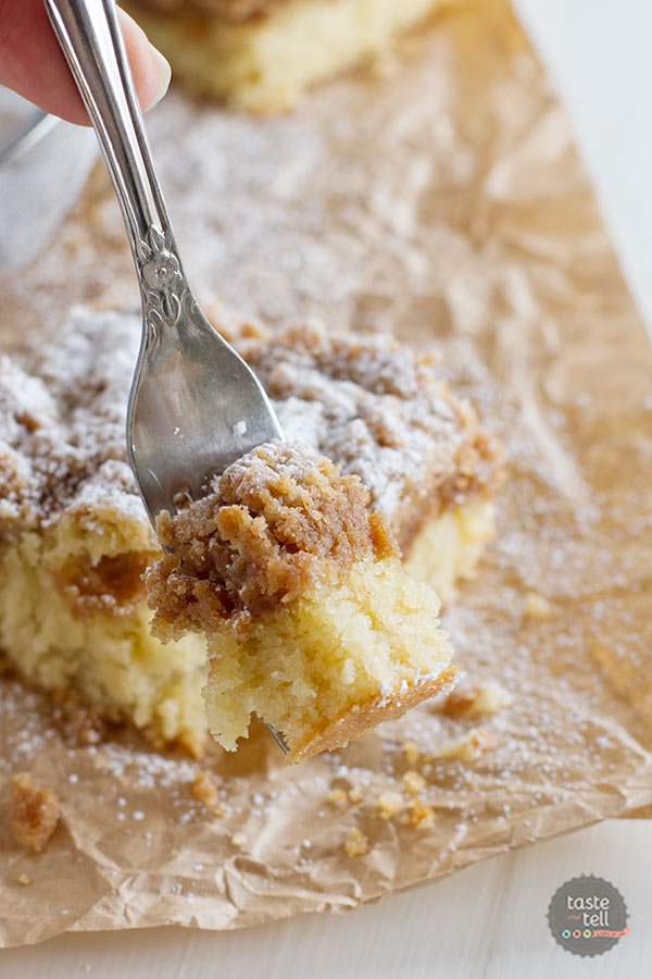 The best Crumb Cake Recipe - you won't need another recipe!