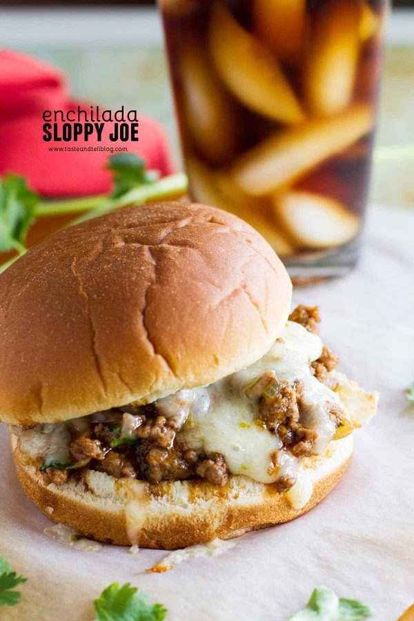 Best Sloppy Joe Recipe - Enchilada Sloppy Joes