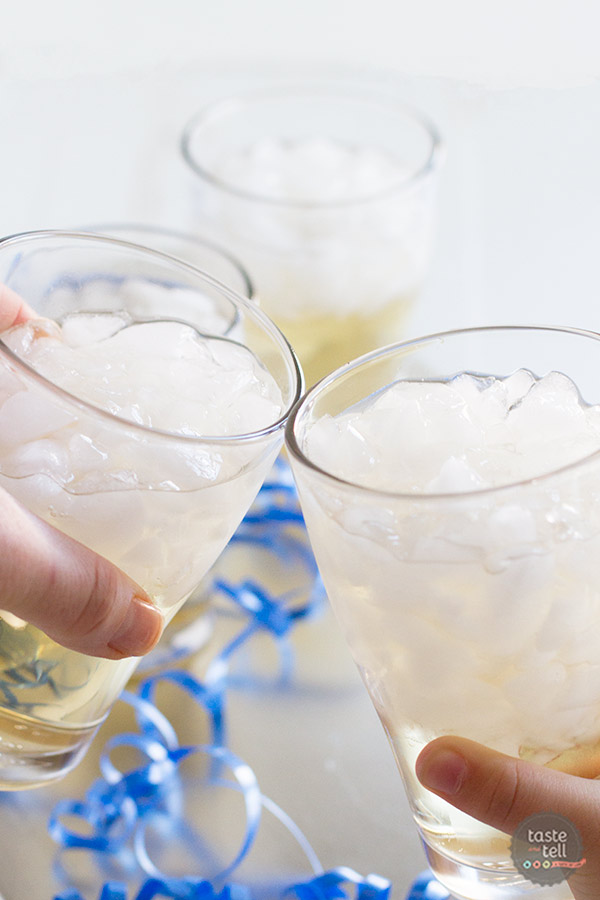 An easy, non-alcoholic drink that is great for any celebration.