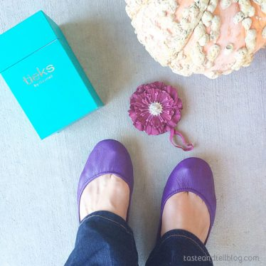 Tieks Review - Christmas Gift Ideas from Taste and Tell