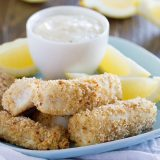 Crispy Fish Sticks Recipe on Taste and Tell