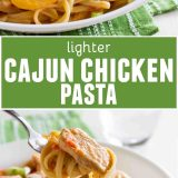 Lighter Cajun Chicken Pasta recipe