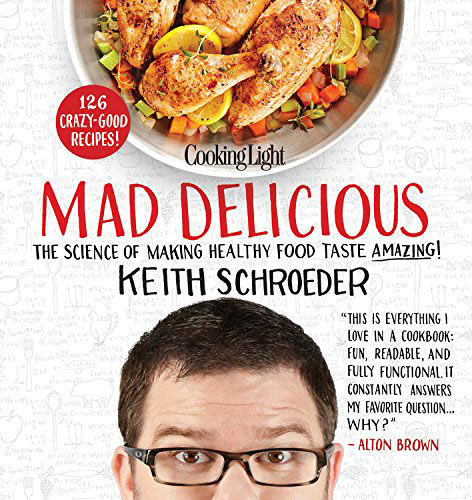 A review of Mad Delicious by Keith Schroeder, plus a recipe for Georgia Peanut Fried Chicken.
