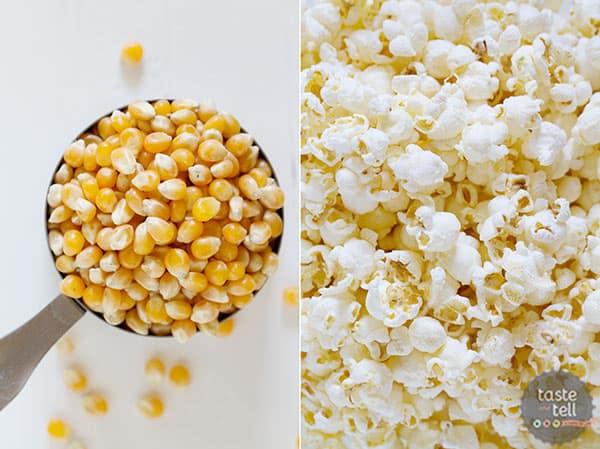 Muddy Buddy Popcorn - perfect snack time recipe!
