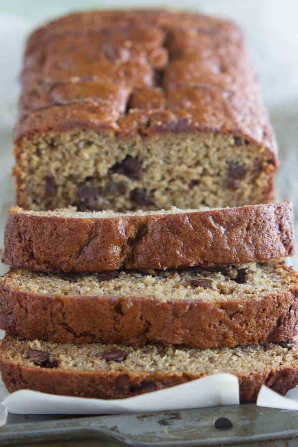 How to make Peanut Butter Banana Bread with Chocolate Chips