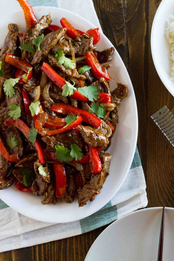 Easy Steak Stir Fry Recipe with Peppers