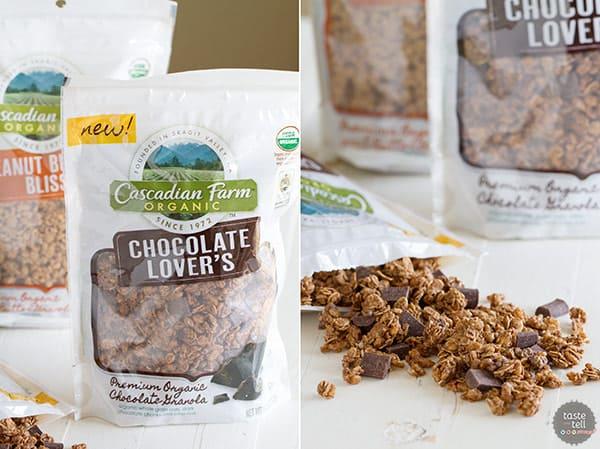 Cascadian Farm Organic Chocolate Lover's Granola