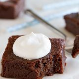 Coconut Flour Brownies - a grain free dessert that is irresistible!