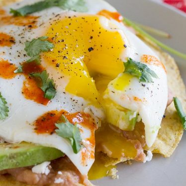 Easy Breakfast Tostadas - the perfect breakfast!