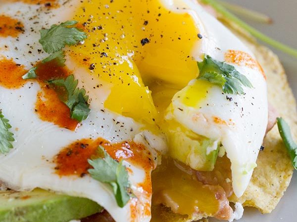 Easy Breakfast Tostadas - the perfect breakfast!