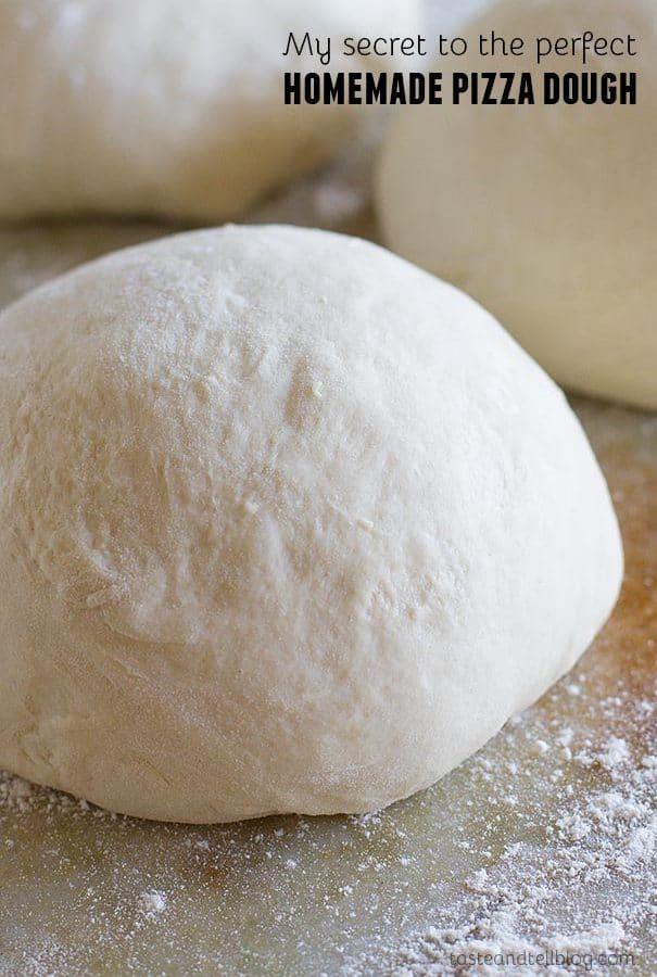 My secret for the BEST Homemade Pizza Dough