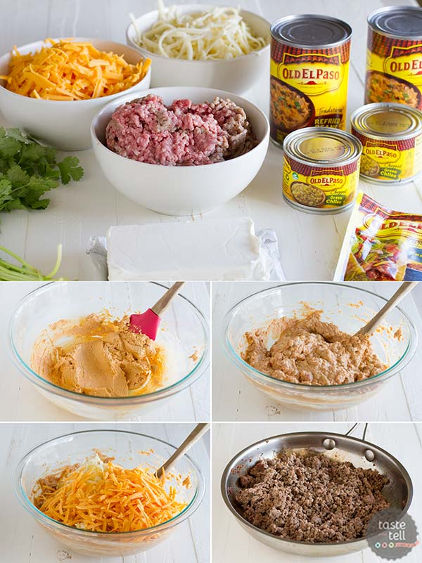How to make Hot Beef and Bean Dip