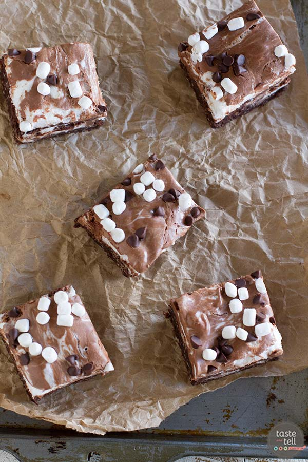 Mega Mallow Coconut Brownies - rich and decadent dessert!