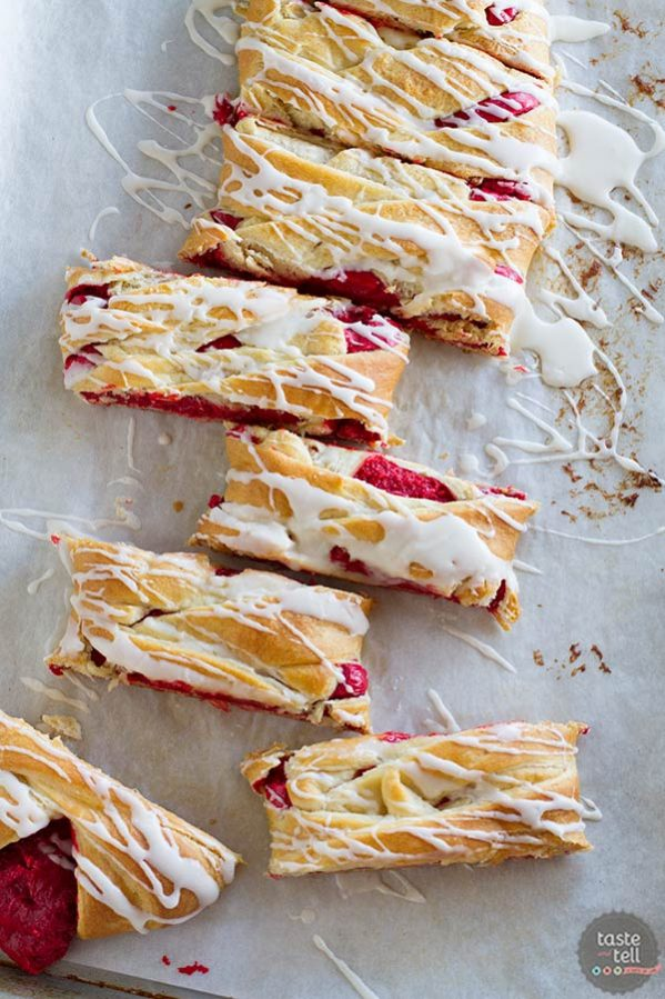 Easy Red Velvet Cream Cheese Danish - a great breakfast or brunch!