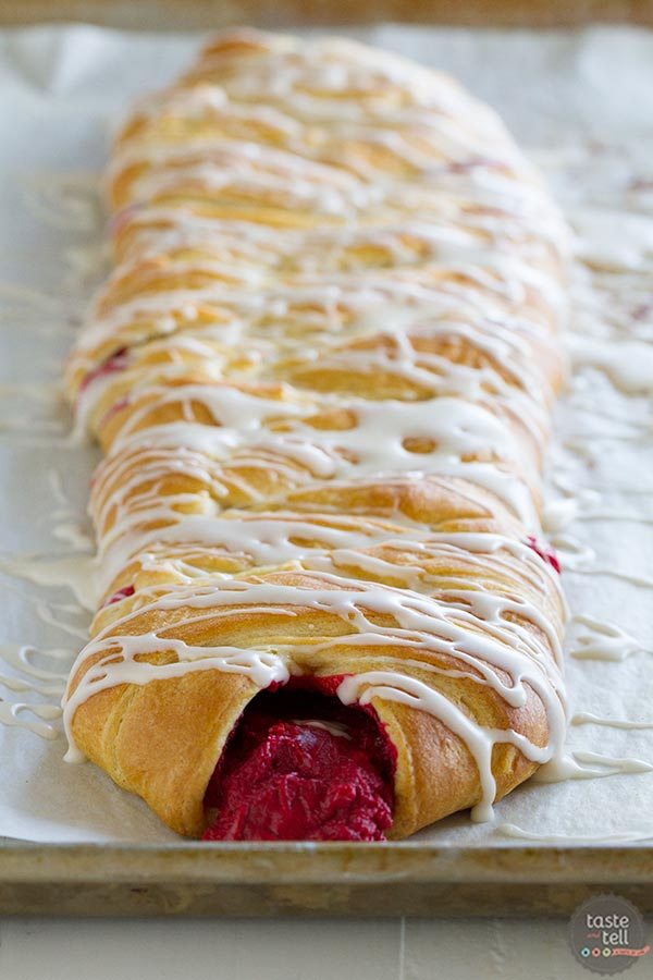 Make any holiday breakfast special with this Red Velvet Cream Cheese Danish.