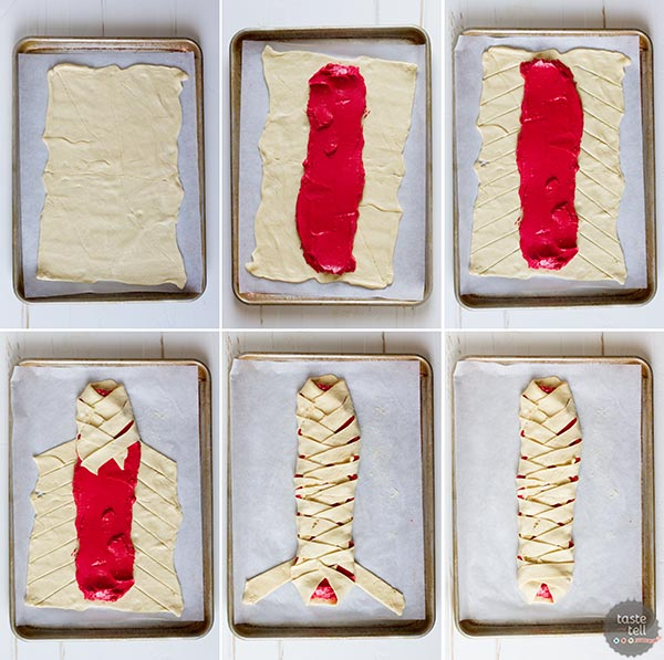 How to make a Red Velvet Cream Cheese Danish