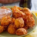 Sweet Potato Tots with Creamy Ketchup - make your own tots at home!