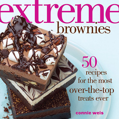 A review of Extreme Brownies by Connie Weis.  Plus a recipe for Mega Mallow Coconut Brownies.