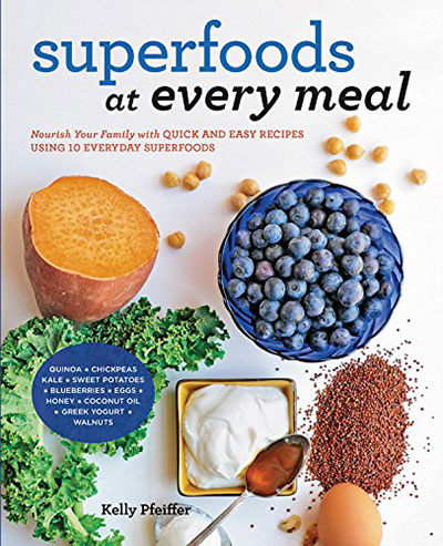 Reveiw of Superfoods at Every Meal plus recipe for Sweet Potato Tots