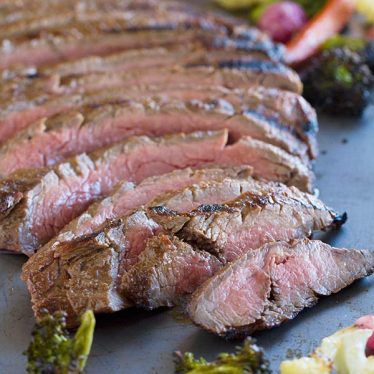 Flank steak is marinated in a mixture of balsamic vinegar, mustard and spices and then grilled to perfection in this Balsamic Grilled Flank Steak.