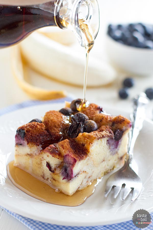 Blueberry Banana French Toast Bake Recipe