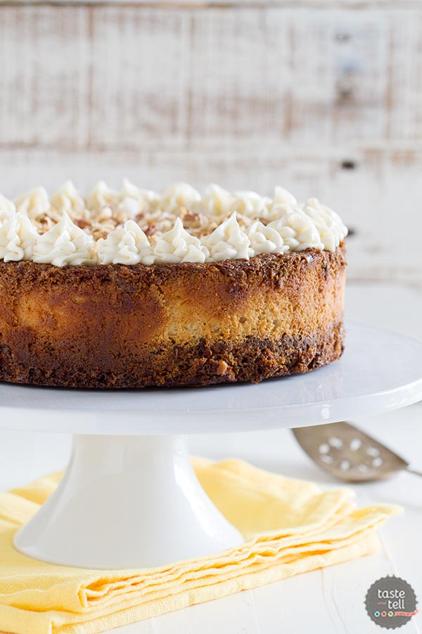 Recipe for Carrot Cake Cheesecake