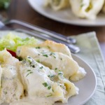 Chicken and Broccoli Stuffed Shells Recipe