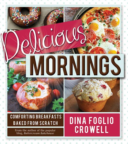 Delicious Mornings Cookbook Review and recipe for Blueberry Banana French Toast Bake
