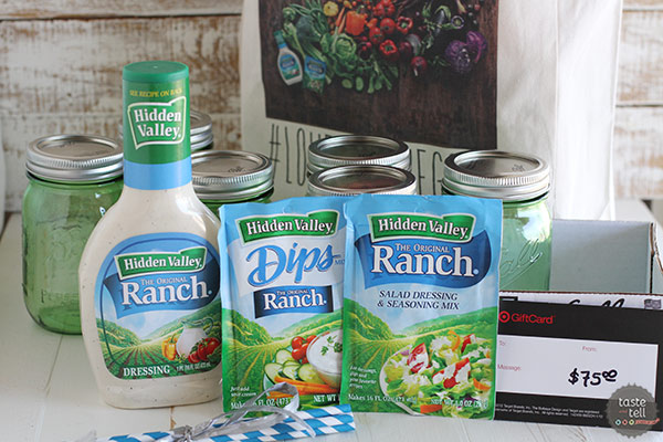 National Ranch Dressing Day Giveaway
