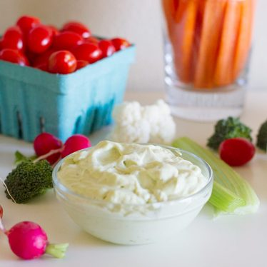 Easy Entertaining - Ranch Dressing Dip Bar