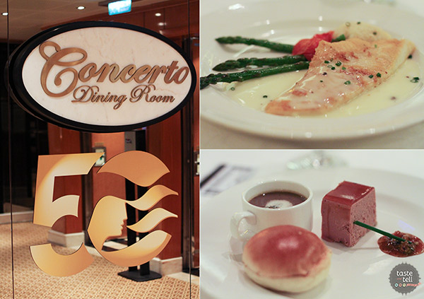 Dining Rooms on the Regal Princess