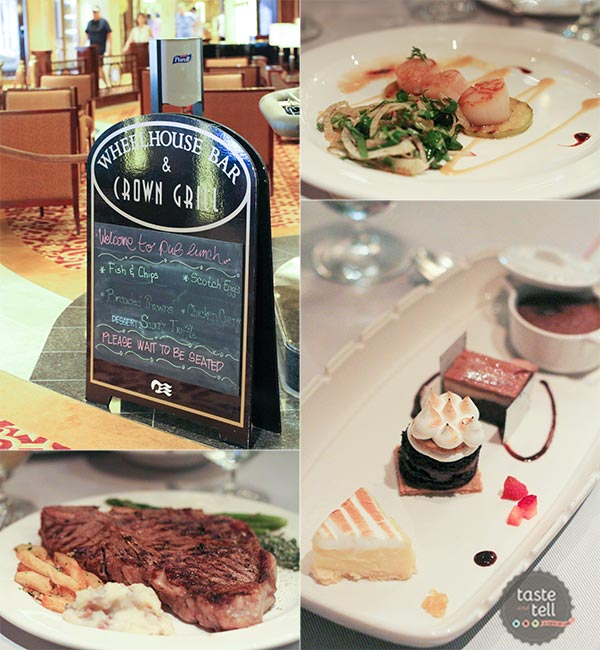 The Crown Grill - Specialty Dining on the Regal Princess