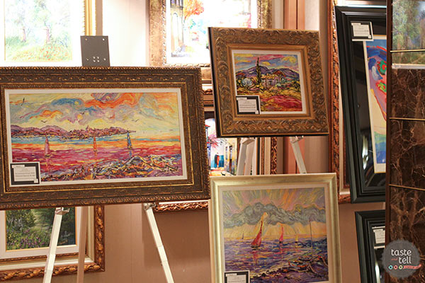 Art Auctions on the Regal Princess