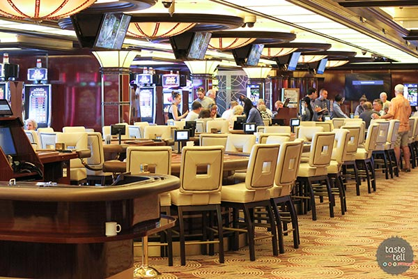 The casino on the Regal Princess