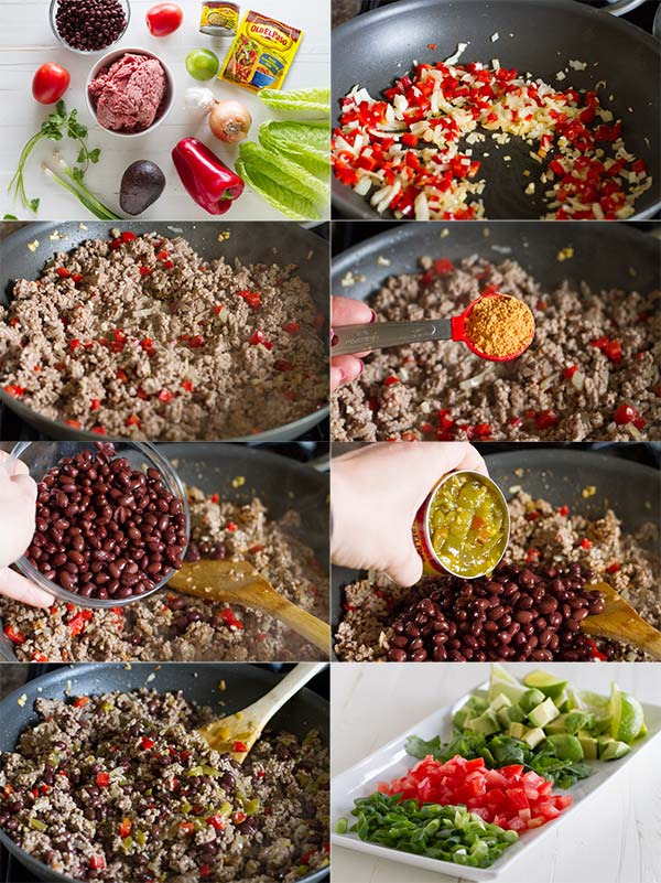 Southwestern Lettuce Wrap Recipe how to
