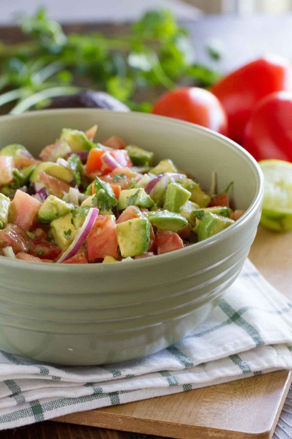 recipe: avocado tomato salad lemonade [14]