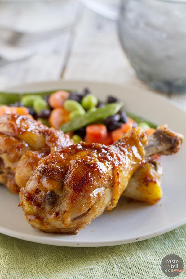 Honey Balsamic Drumsticks | 400 Calories or Less with Our Best Bites Review