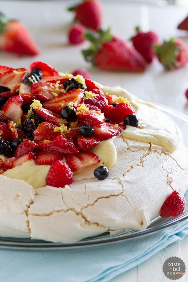 Pavlova Recipe with Fresh Berries | The Perfect Egg Review