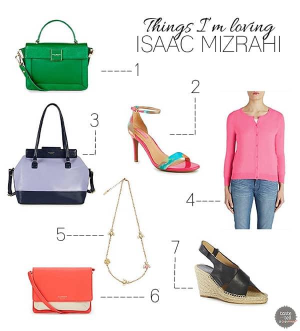 Things I'm Loving – Isaac Mizrahi {Giveaway!}